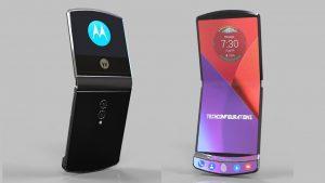 Motorola en course dans l'innovation des téléphones pliables